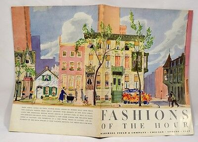 Marshall Field & Co FASHIONS OF THE HOUR Spring 1937 Chicago