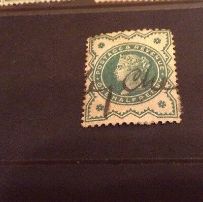 Great Britain Queen Victoria Used Stamp