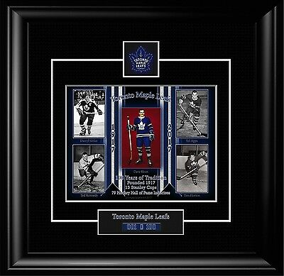 Toronto Maple Leafs Centennial Anniversary Limited Edition Matted Photo Tml3