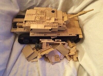 Mega Bloks Call Of  Duty - Desert Tank From Collector Series