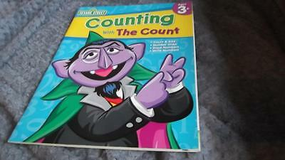 Sesame Street Counting with the Count Activity Book New