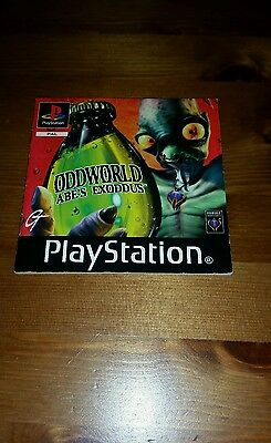 Ps1 Oddworld Abes Exoddus  Instructions Only