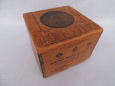 Vintage Large Hardy Card Box For Salmon Fly Fishing Reel..Perfect..Uniqua..Etc.