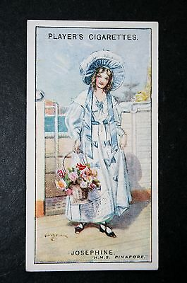 HMS Pinafore   Gilbert and Sullivan   Josephine  1920's Vintage Card # VGC