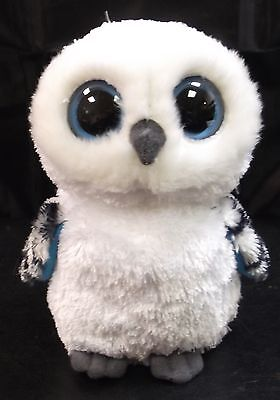 Ty Beanie Owl White And Good Condition.