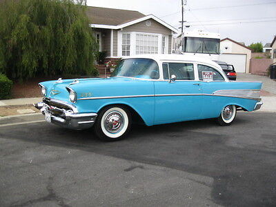 1957 Chevrolet Bel Air/150/210  1957 chevy 2 door