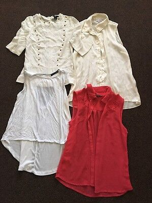 Women's Small Bundle Of Tops Size 8