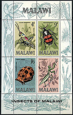 Malawi 1970 SG#MS349 Insects MNH M/S #D42712