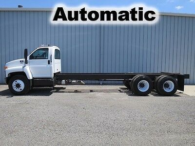 C8500 Isuzu 300 Hp Automatic Tandem Axle Cab Chassis Straight Frame Truck