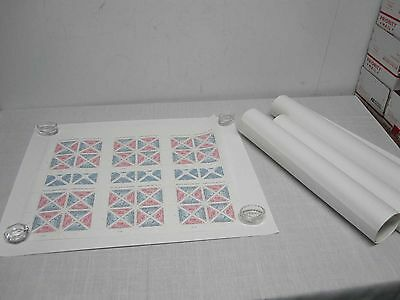 4 Sheets Pacific 97 Intl Stamp Exhibition Sf Cal Triangle Stamps Mint Fv $122.88