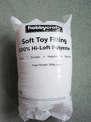 Hobbycraft Polyester Soft Toy Stuffing 240g Craft Filling Sewing Supplies