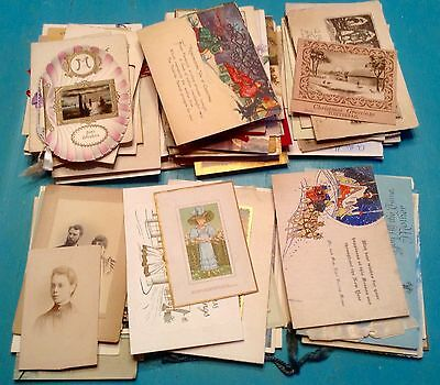Collection of vintage greeting cards. Christmas, Easter and Birthday. 100 plus.
