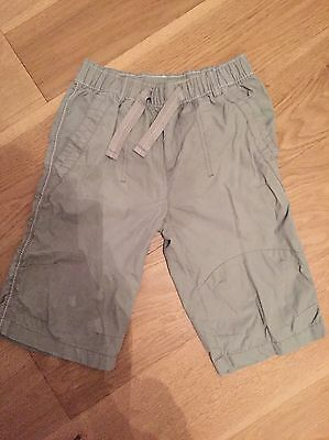 Boys Shorts Next Aged 8 Years Fit 7-8 Years Beige Great Condition