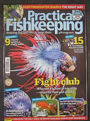 Practical Fishkeeping July 2016 Fighter Anemone Freshwater Sharks Power Filters