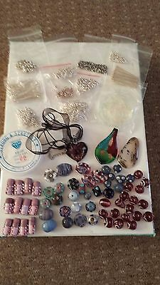 Jewellery making supplies and beads