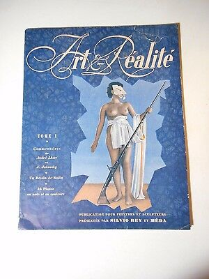 1949 Art & Realite' Magazine - Nude Art For Painters & Sculptors - French Lang.