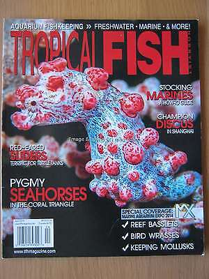 Tropical Fish Hobbyist April 2014 Red-eared Sliders Pygmy Seahorses Discus Wrass