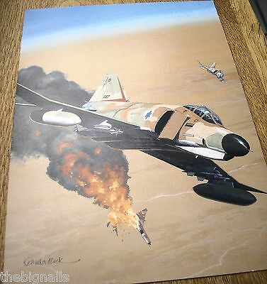 Combat Aircraft  F-4  Phantom  Large Postcard