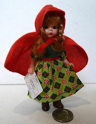 Madame Alexander LITTLE RED RIDING HOOD Doll McDonald's 2002 With Tag