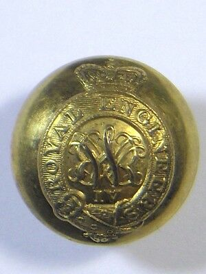 Royal Engineers original (William 4th) Officers Large Button.