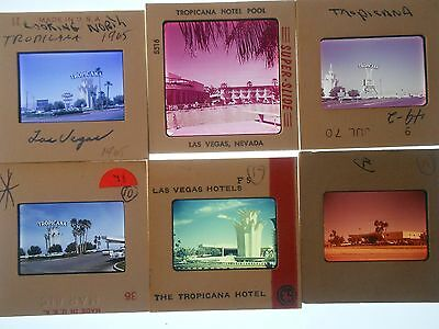 Vegas Slide Tropicana Hotel Motel  Nevada Day Strip  View Photo Vintage Early