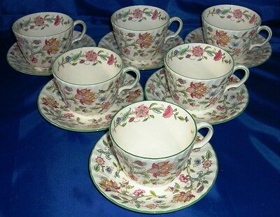 Superb Minton Haddon Hall BREAKFAST CUP (S) & SAUCER (S)