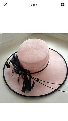 Condici Hat  PInk And Navy