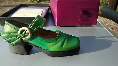 "Collectible Miniature Shoe ""Just the Right Shoe"" by Raine - Treads (Boxed)"