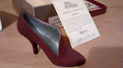 "Collectible Miniature Shoe ""Just the Right Shoe"" by Raine - Pastiche (Boxed)"