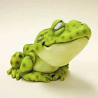 """Whimsical 3"""" Bobblehead Frog~New~Gift Boxed~Great Gift!!!"""