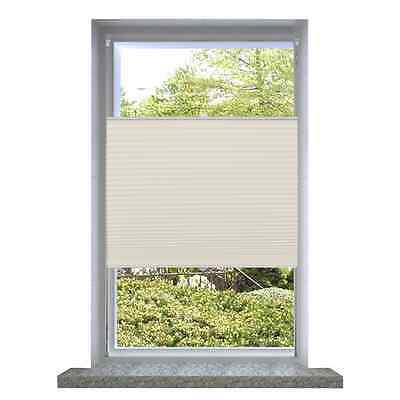 S# Roller Blind Blackout 70x100cm White Daynight Sunscreen Quality Window Blinds