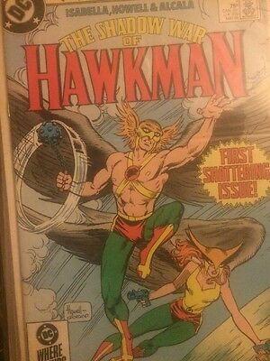 The Shadow War Of Hawkman Set 1-4