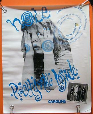 "Very Rare Hole Courtney Love Original 1991 Promo Poster ""pretty On The Inside"""
