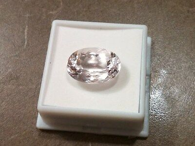 KUNZITE 16.16 Carat From Brazil 18x13mm Oval~ Gorgeous!