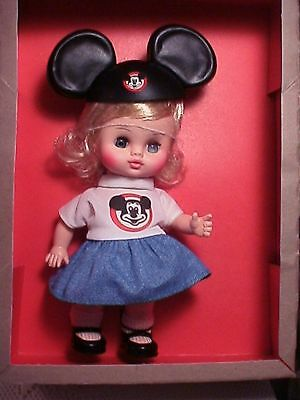 offical Mouseketeer Disney girl doll 1970's edition w/ box mickey mouse Club