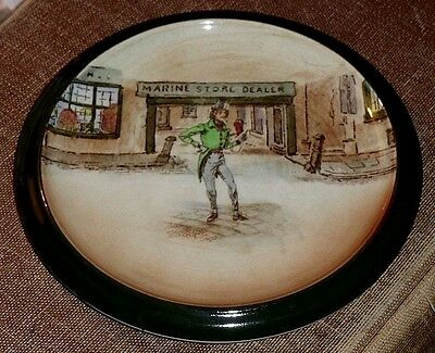 Early (1908 - '18) Royal Doulton Dickens Ware Trivet/teapot Stand, Alfred Jingle