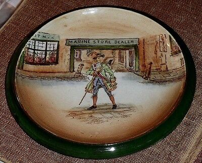 Early (1908 - '18) Royal Doulton Dickens Ware Trivet/teapot Stand, Barnaby Rudge