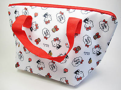 New Bento Lunch Box Insulated Carrying Purse Bag - Sanrio Hello Kitty