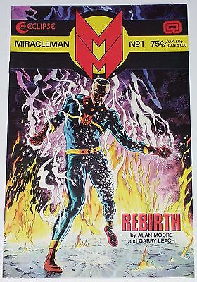 Miracleman #1 from Aug 1985 F to F/VF Alan Moore story