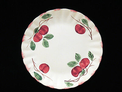 Blue Ridge Southern Potteries Autumn Apple 9 1/4 in Plate