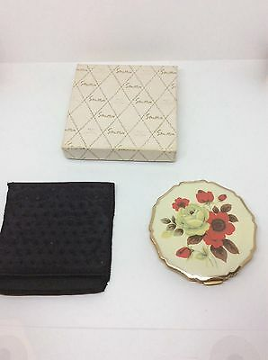 Awesome 1930's Never Used Stratton Princess Enameled Compact