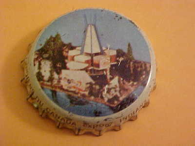 1967 Montreal Quebec Expo 67 Beer Bottle Cap First Nations Of Canada Pavilion