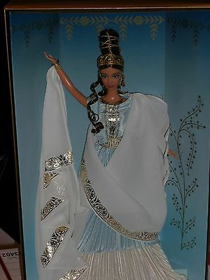 2000 Barbie Collector Goddess Of Beauty Barbie!! No Lid