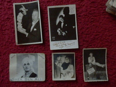 Lyle The Magician Autographed Photo + 3 Other Magician / Illuisionist