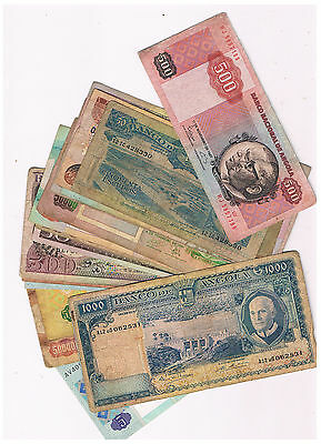 Angola 20 Different Notes 1962-2011 Circ