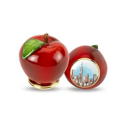 Halcyon Days Enamels The Big Apple Bonbonniere - Brand New & Boxed