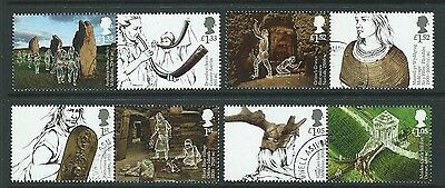 Great Britain 2017 Ancient Britain Set Of 8 Fine Used