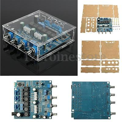 TPA3116 2.1 50WX2+100W+ Bluetooth Class D Power Amplifier Completed Board + Case
