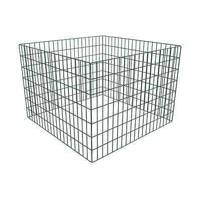 141206 Square Mesh Garden Composter 100 x 100 x 70 cm - Untranslated