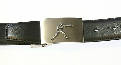 Boxer Leather Belt and Buckle Set Boxing Sports Tinned Gift